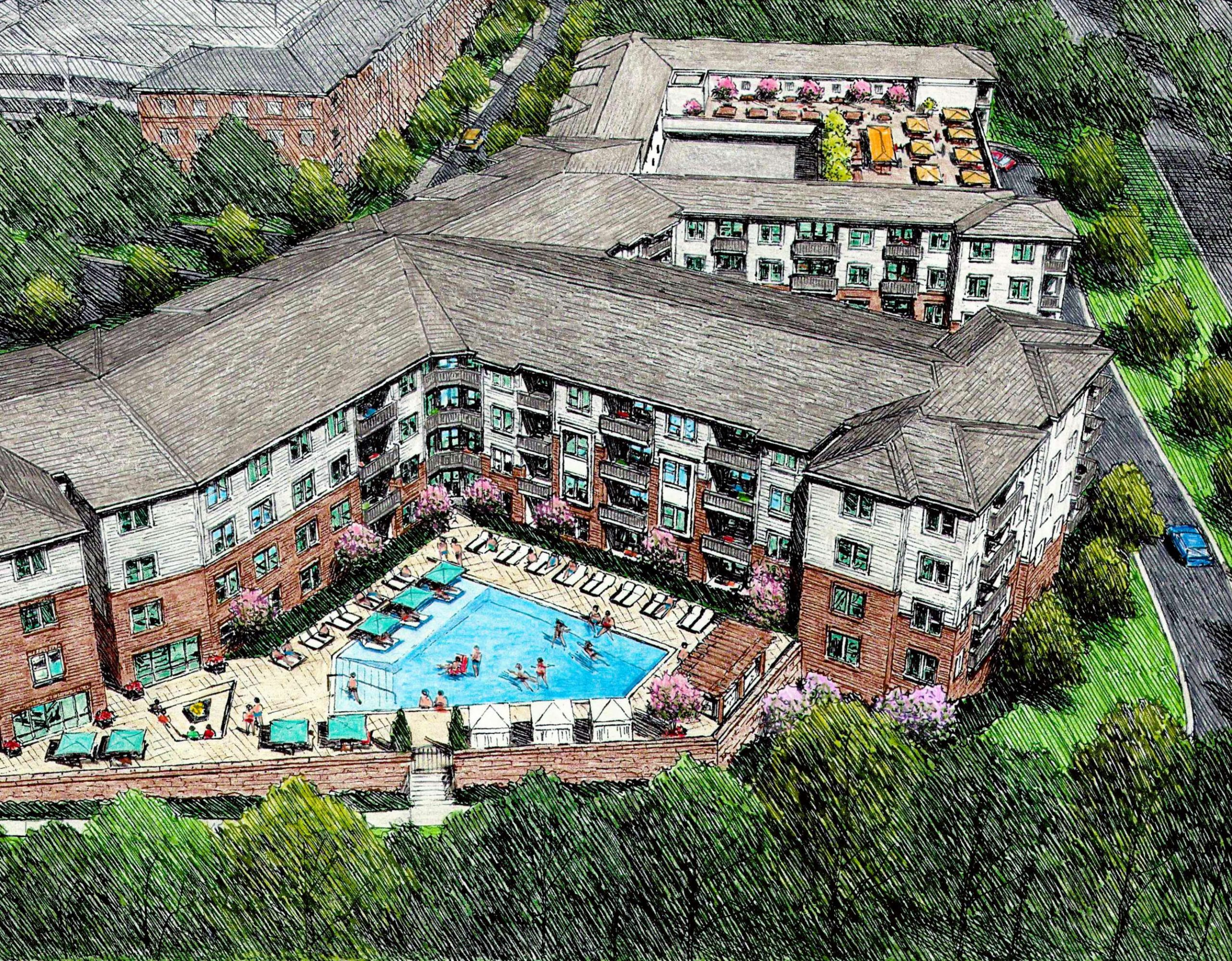 Press Release: Magma Equities purchases Richmond Hills, a 1970s vintage apartment community for value-add in Raleigh, NC